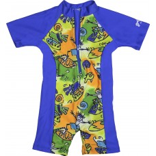 Baby Boy Surfer Dude 1 Piece Swimsuit