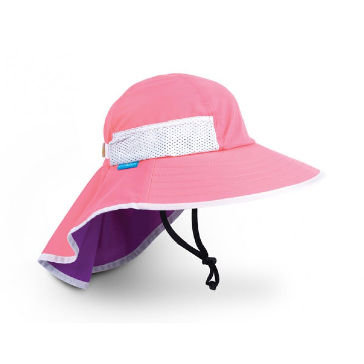 Youth Pink Play Hat UPF 50+