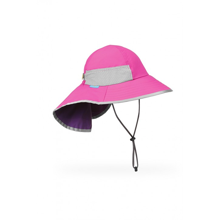 Youth Fuchsia Play Hat UPF 50+