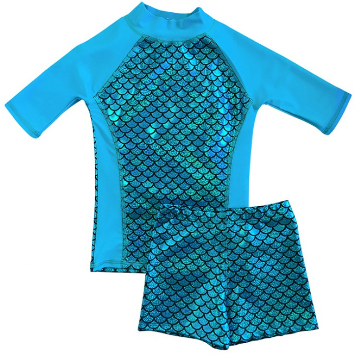 Bloo_mer Shirt and Short Shorts Set