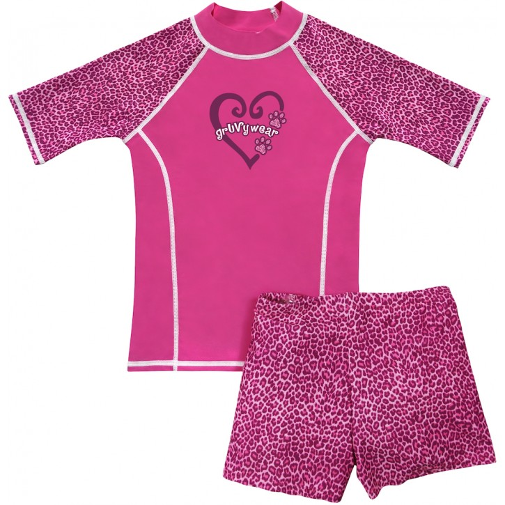 Pink Panther Shirt and Short Shorts Set