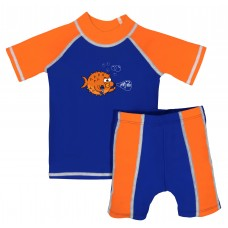 Baby Boy Rash Guard Puff Baby Swimwear Set