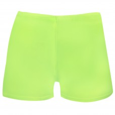 Juniors/ Woman Sport Shorts - Lime