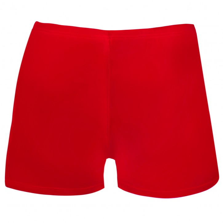Juniors/ Woman Sport Shorts - Red