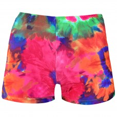 Juniors/ Woman Sport Shorts -  Psychedelic Pinks