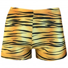 Juniors/ Woman Sport Shorts - Tiger Wild