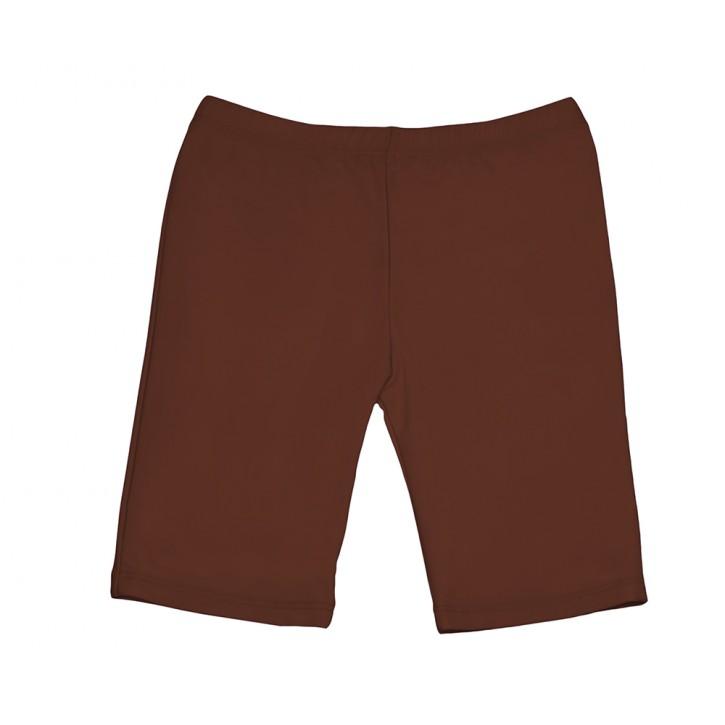 Girls Long Shorts - Brown