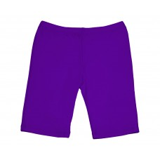 Girls Long Shorts - Purple