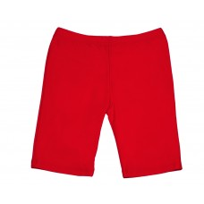 Girls Long Shorts - Red