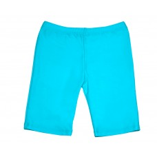 Girls Long Shorts - Turquoise