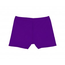 Girls Short Shorts - Purple