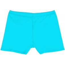 Girls Short Shorts - Turquoise