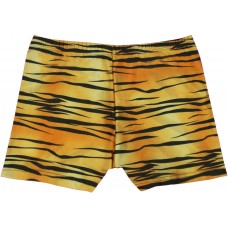 Girls Short Shorts - Tiger