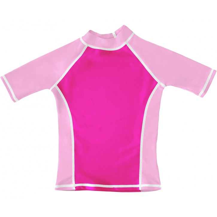 Pink UV Short Sleeve Swim Shirt
