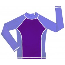 Purple / Lavender UV Long Sleeve Swim Shirt