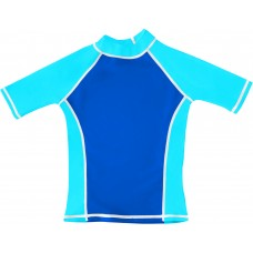 Blue / Turquoise UV Short Sleeve Swim Shirt